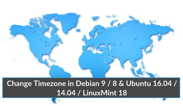 How Change Timezone in debian distros