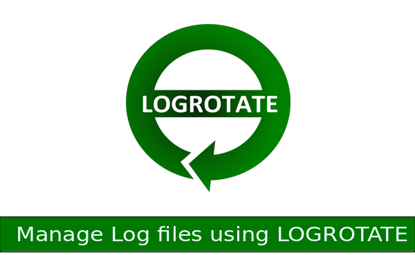 How manage log files with LOGROTATE
