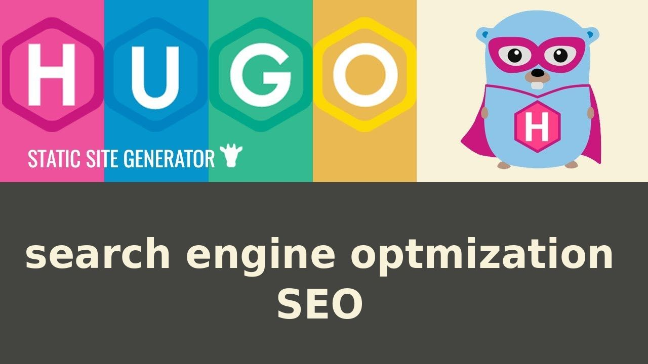 Hugo website SEO